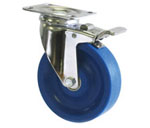 2C-PSS Catis Polished Stainless Steel Caster