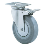 2C-PZC-CR Catis Pressed Steel Casters