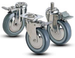 2J-SS Jarvis Series Caster - Duraro Stainless Steel Casters