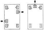 Floor Lock with Position Lock Diagram
