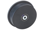 Flanged Nylacron and Cast Polyamide Wheels