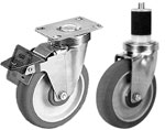 02JSS Stainless Steel Caster